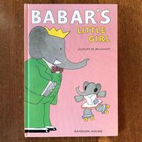 「BABAR'S LITTLE GIRL」Laurent de Brunhoff(ロラン・ド・ブリュノフ)