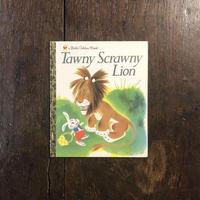 「Tawny Scrawny Lion」Kathryn Jackson Gustaf Tenggren