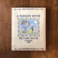 「A NURSERY RHYME PICTURE BOOK」L. Leslie Brooke(レズリー・ブルック)