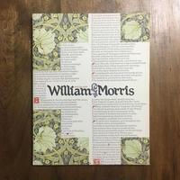 「ウィリアム・モリス展図録 1989年」
