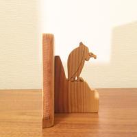 「BIRD BOOK END(クロハゲワシ/ヤマザクラ)」