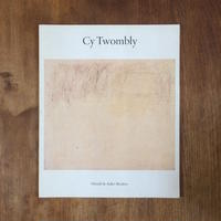 「Cy Twombly  April 12 - May 7,1986」