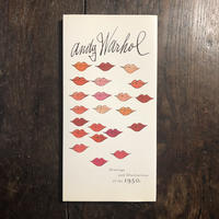 「Drawings and Illustrations of the 1950s」Andy Warhol(アンディ・ウォーホル)