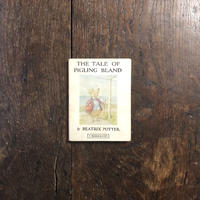「THE TALE OF PIGLING BLAND」Beatrix Potter(ビアトリクス・ポター)