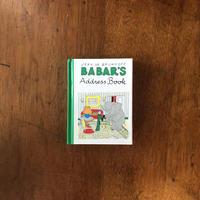 「BABAR'S Address Book」Jean de Brunhoff(ジャン・ド・ブリュノフ)