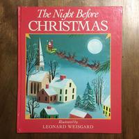 「The Night Before CHRISTMAS」LEONARD WEISGARD(レナード・ワイスガード)
