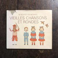 「VIEILLES CHANSONS ET RONDES」M.Boutet de Monvel(ブーテ・ド・モンヴェル)