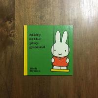 「Miffy at the playground」Dick Bruna(ディック・ブルーナ)