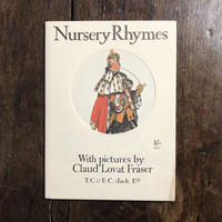 「NURSERY RHYMES(フレーザーのわらべうた オーピー・コレクション2)」Claud Lovat Fraser