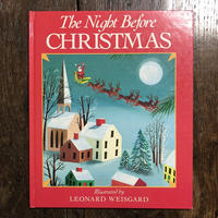 「THE NIGHT BEFORE CHRISTMAS」Leonard Weisgard(レナード・ワイスガード)
