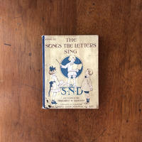 「THE SONGS THE LETTERS SING(1939年)」Margaret W. Tarrant(マーガレット・タラント)