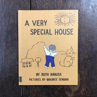 「A VERY SPECIAL HOUSE(1965年頃)」Ruth Krauss(ルース・クラウス) Maurice Sendak(モーリス・センダック)