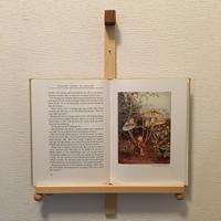 「BOOK FRAME SIZE M(壁掛けタイプ ヒノキ/オイル仕上げ 丸ツマミ)」