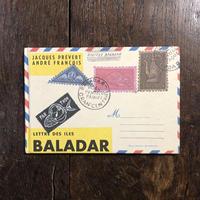 「LETTRE DES ILES BALADAR」Jacques prevert(ジャック・プレヴェール) Andre Francois(アンドレ・フランソワ)