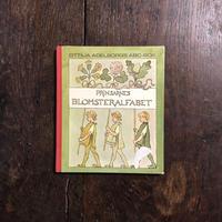 「PRINSARNES  BLOMSTERALFABET(1977年版)」Ottilia Adelborg(オッティリア・アーデルボリ)