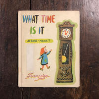 「WHAT TIME IS IT」Francoise(フランソワーズ)
