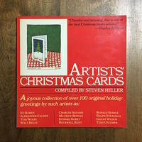 「ARTISTS' CHRISTMAS CARDS」TOMI UNGERER MAURICE SENDAK EDWARD GOREY etc