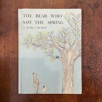 「THE BEAR WHO SAW THE SPRING」Karla Kuskin(カーラ・カスキン)