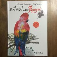 「Die Amsel und der Papagei(ポスター付き)」Antonie Schneider Jozef Wilkon(ヨゼフ・ウィルコン)