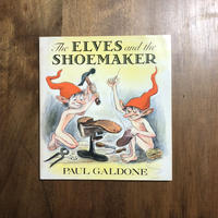 「THE ELVES and THE SHOEMAKER(1984年初版)」Paul Galdone(ポール・ガルドン)