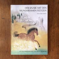 「DER KNABE MIT DEN WUNDERSAMEN FLUGELN」Jane Yolen(ジェイン・ヨーレン) Helga Aichinger(ヘルガ・アイヒンガー)