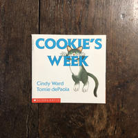 「COOKIE'S WEEK」Tomie dePaola(トミー・デ・パオラ)