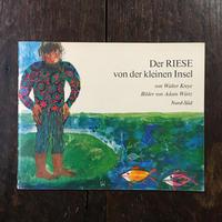 「Der RIESE von der kleinen Insel」Walter  Kreye Adam Wurtz(アダム・ヴュルツ)