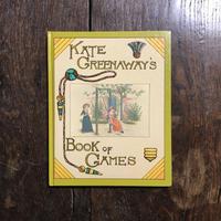 「KATE GREENAWAY'S BOOK OF GAMES」Kate Greenaway(ケイト・グリーナウェイ)