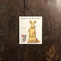 「Geraldine, the Music Mouse」Leo Lionni(レオ・レオニ)