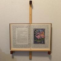 「BOOK FRAME SIZE L(壁掛けタイプ ヒノキ/オイル仕上げ)」