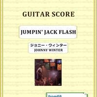 ジョニー・ウィンター (JOHNNY WINTER) / JUMPIN' JACK FLASH (ジャンピン・ジャック・フラッシュ) ギター・スコア(TAB譜) 楽譜