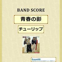チューリップ   /  青春の影  バンド・スコア(TAB譜)  楽譜