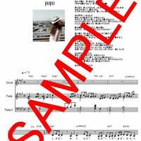 JUJU / また明日...  ヴォーカル / ピアノ譜