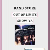 SHOW-YA(ショーヤ) / OUT OF LIMITS バンド・スコア (TAB譜) 楽譜