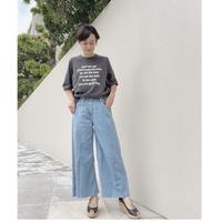 五分袖ロゴTシャツ【モーラカーラ 821201】