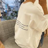 9/6ゲリラライブ バックロゴロンT ミニ裏毛 (アンナケリー 85213924)