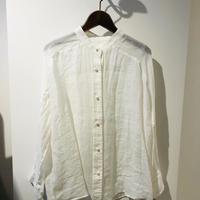5月9日インスタライブ麻パールボタンシャツ(パシオーネ 026942)
