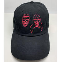 【World wide Famous】KIMYE ネオンステッチ CAP