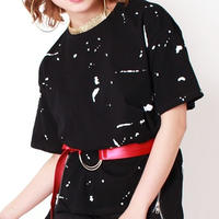 【LuxuryRose】ブラック・レッド2色展開 フープデザインベルト