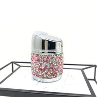 【LuxuryRose】キラキラ ピンク ラインストーン 灰皿