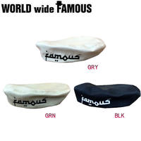 【World wide Famous】2018春夏 FAMOUSロゴ ベレー帽