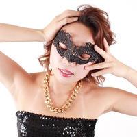 【LuxuryRose】パーティー コスチューム用 レース 仮面 ベネチアンマスク