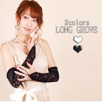 【LuxuryRose】指貫き花柄レースグローブ