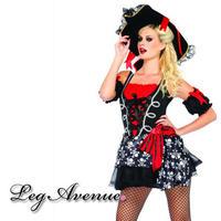 【LegAvenue】◆即納◆ ハロウィン LegAvenue 海賊 パイレーツ 2点セット