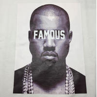 【World wide Famous】KANYE  Tシャツ