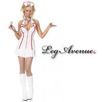 【LegAvenue】ハロウィン ◆即納◆  ナース 看護婦 3点セット
