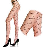 【MUSIC LEGS】ビッグダイアモンドネット パンティーストッキング