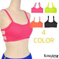 【LuxuryRose】 4色あり‼️ ネオンカラー スポブラ フィットネス ブラトップ