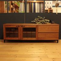 現品対象 Lv-leW-016 TVボード160 ブラックチェリー材
