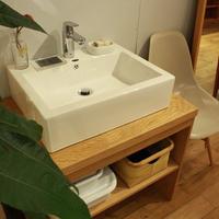 関西地区限定! lv_se02 W780洗面台/オーク材